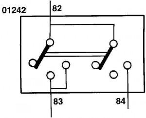 Электрическая схема переключателя